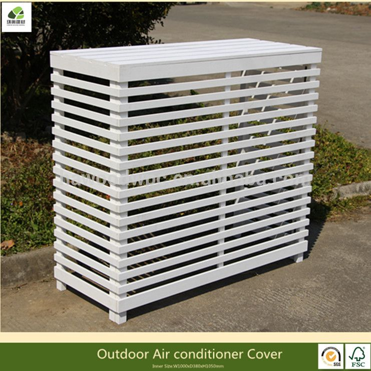Large Size Wood Plastic Composite Outdoor Air Conditioner