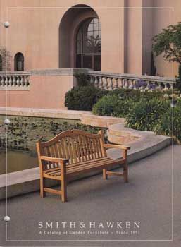 Smith Hawken A Catalog Of Garden Furniture Product With Price List Attached Within 4to 39 Pp Illus In Color Very Good