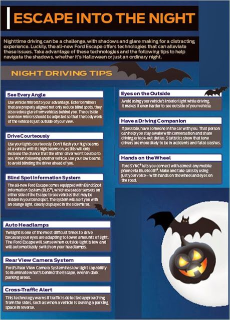 Night Driving Tips For Halloween Safety From Ford Halloween