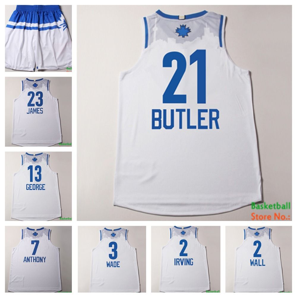 Home all star all star game 2015 comprare canotta nba all - Aliexpress Com Buy 2016 All Star Game Eastern 21 Jimmy Butler White Basketball