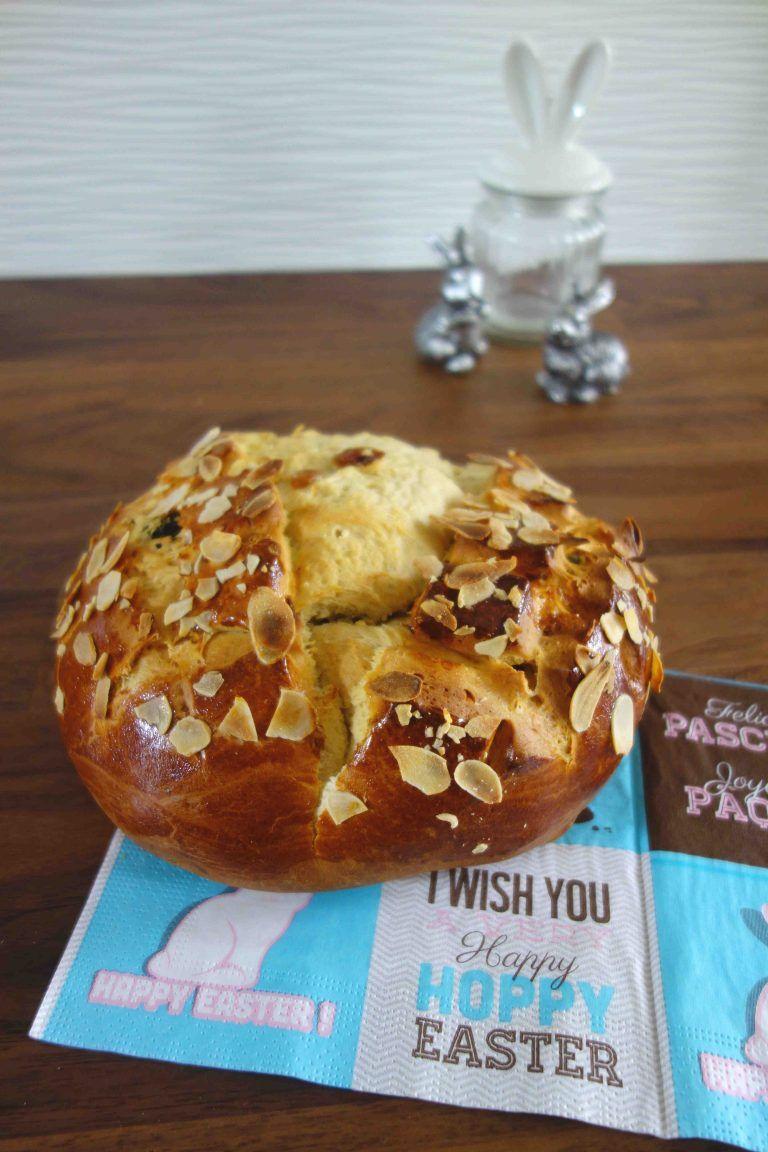 Der Osterfladen- ein Klassiker zu Ostern- meine Version aus Dinkelmehl