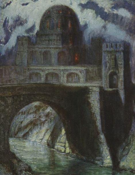 Hermann Hendrich, Saint Grail Legend, The Grail Castle