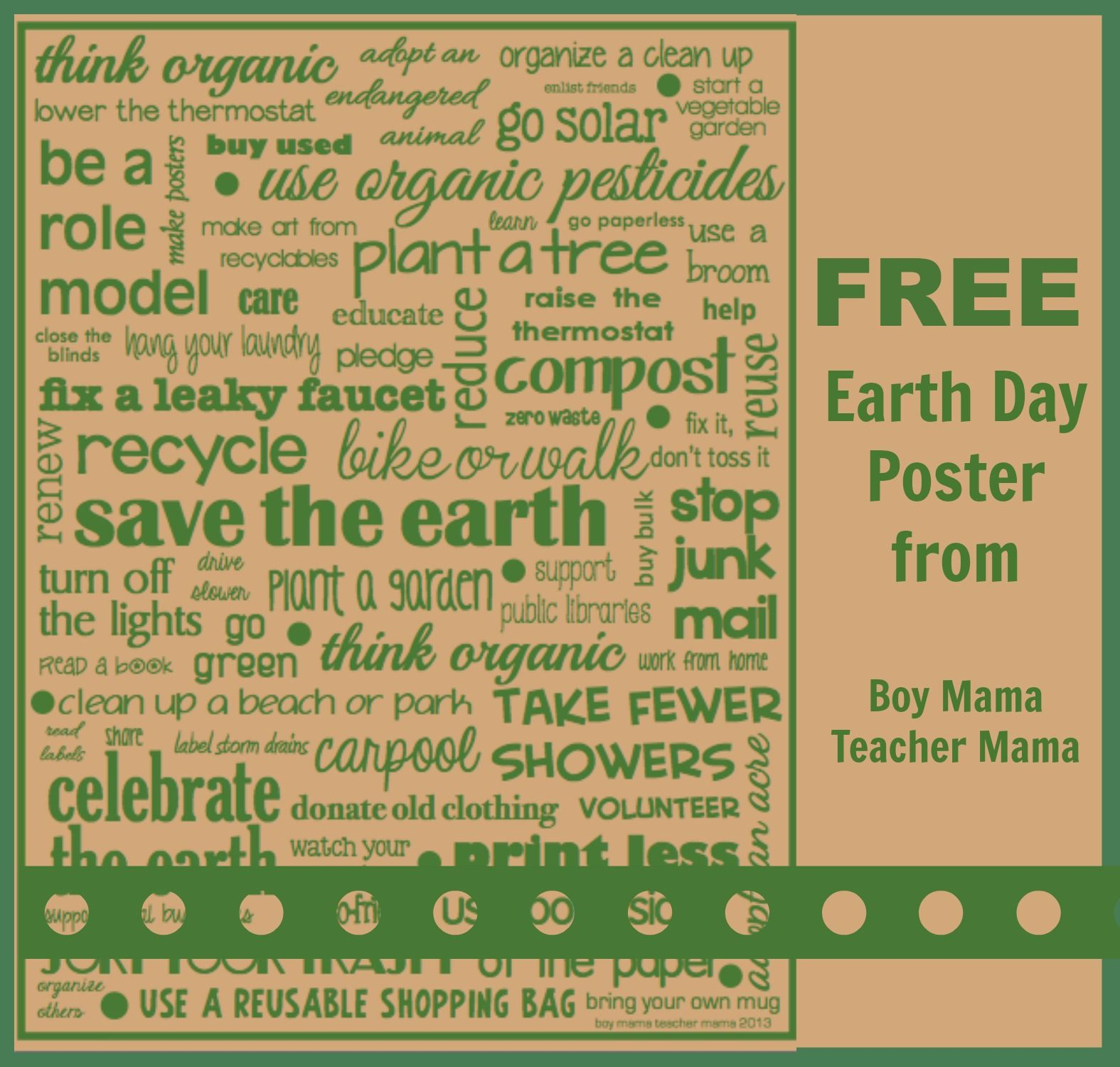 Teacher Mama Free Earth Day Activities After School Linky Aussie Kid Blogger Network