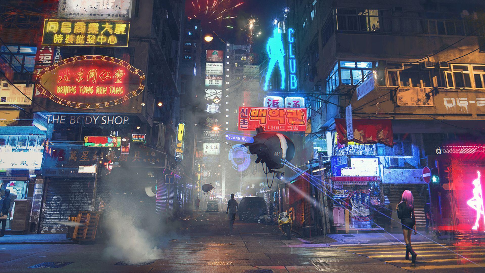 cyberpunk ish wallpaper dump 1080p cyberpunk and sci fi