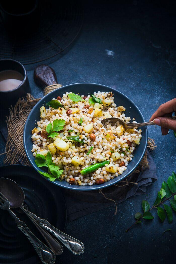 Sabudana Khichdi Recipe Sabudana Khichdi Healthy Indian Recipes Sabudana Recipes