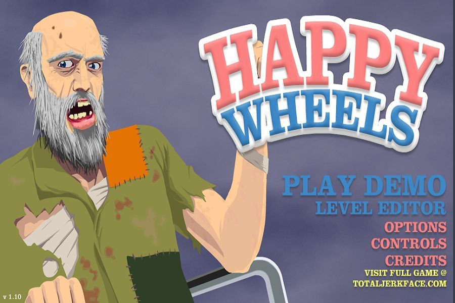 Happy Wheels Dare To Get A Bloody Fun Time Flash Light Research