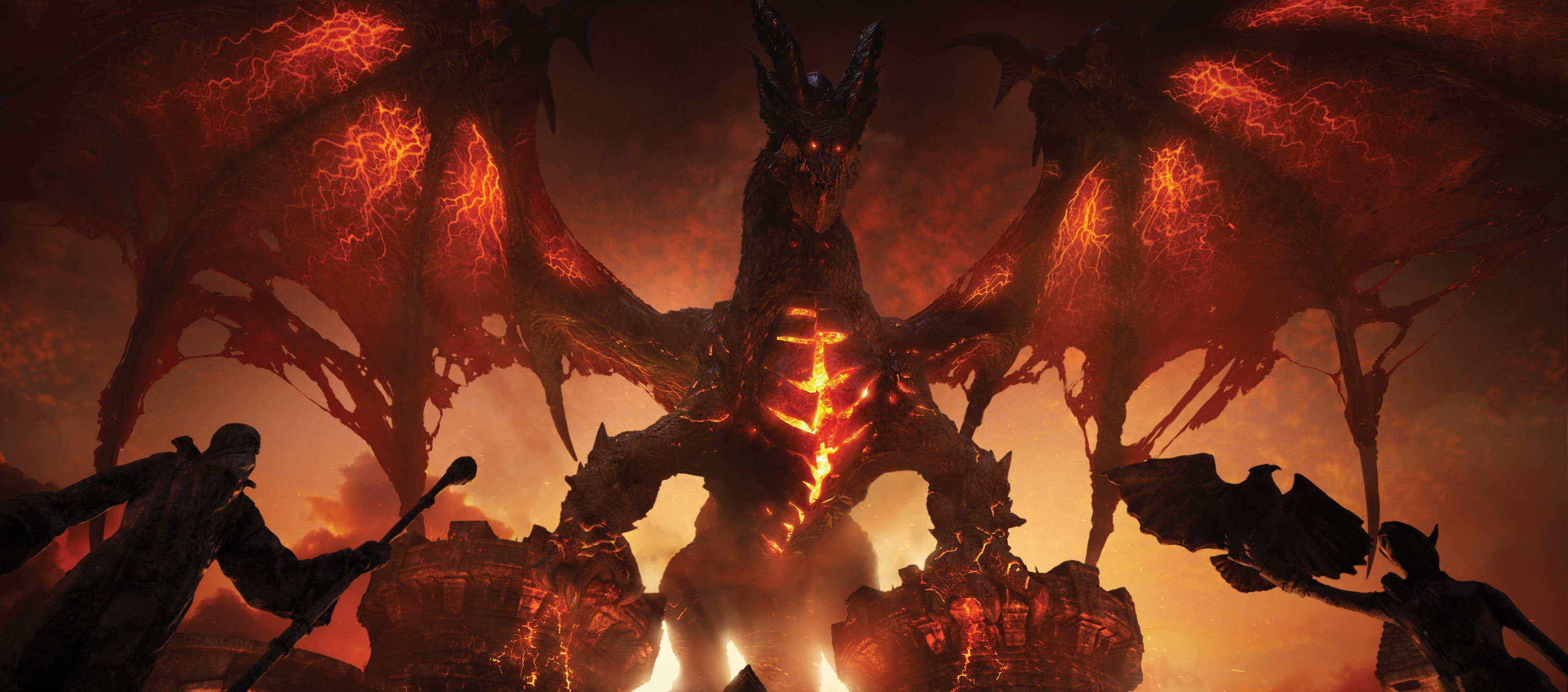 Wallpaper World Of Warcraft Cataclysm Wow Deathwing