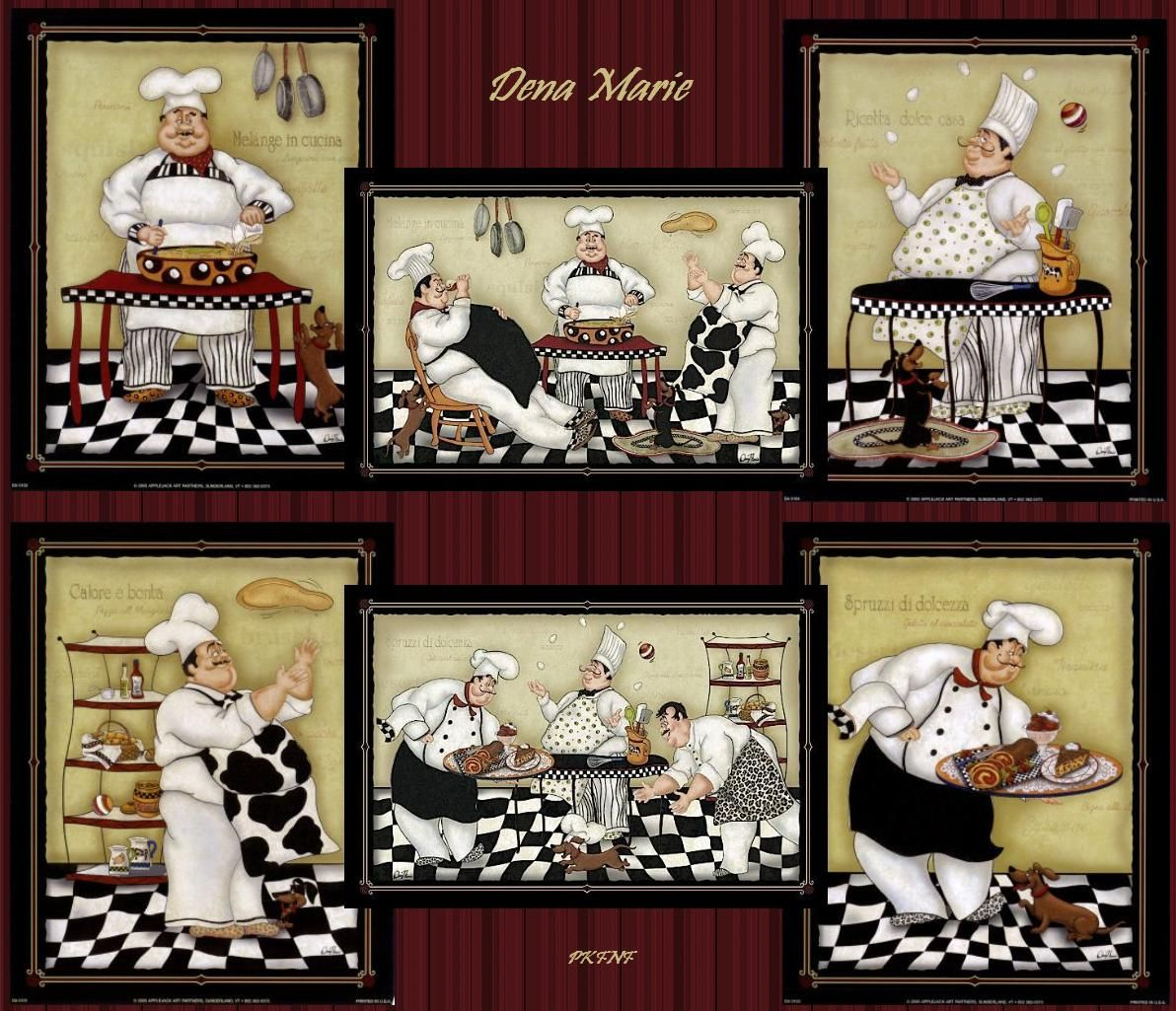 Chef Guy Kitchen Decoration: Pin By Talin Cantaş On CHEF DECUPAGE