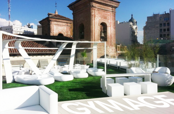 Terraza gymage lounge resort en madridcosas de madrid for Terrazas con encanto madrid
