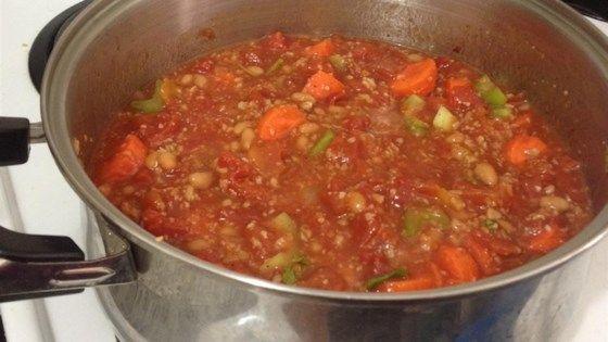 Photo of Wicked Good Veggie Chili Recipe