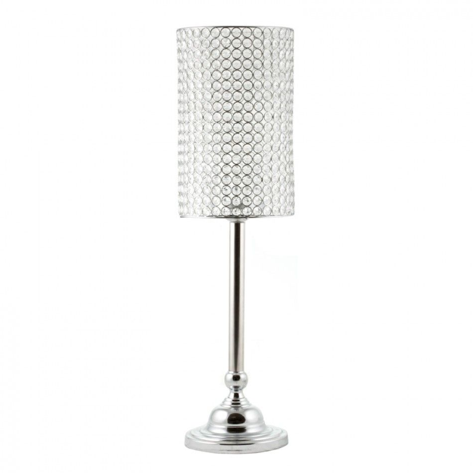 Wedding Candelabras - 32 Joi Crystal Beaded Lamp Centerpiece [403115 ...