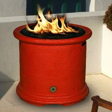 California Outdoor Concepts Island Chat Height Fire Pit Fire Pit Gas Firepit California Outdoor