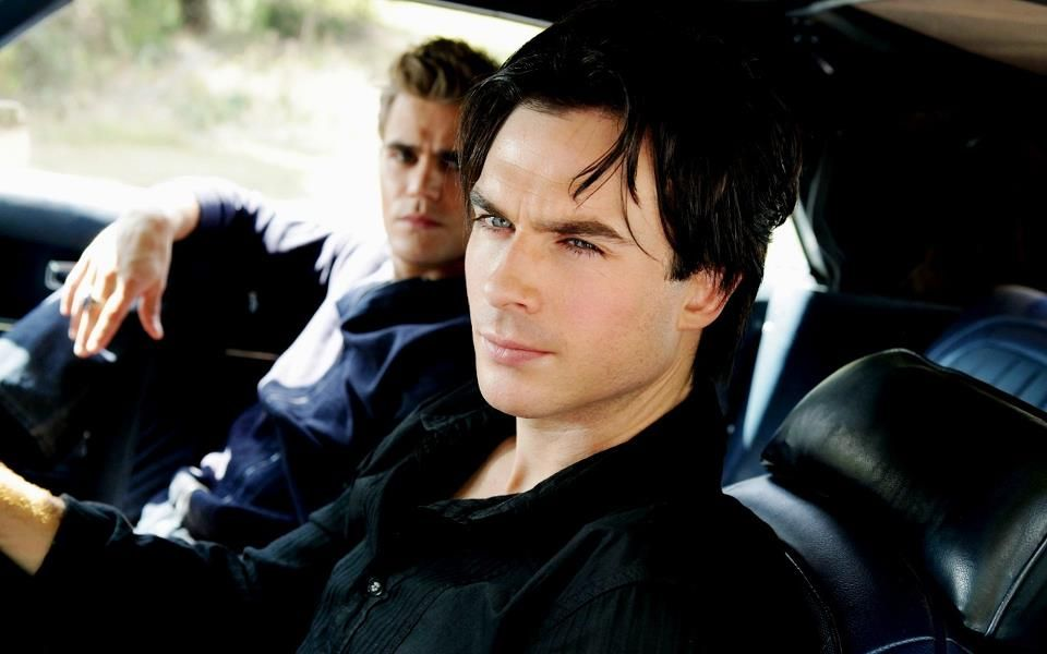 Ian Somerhalder and Paul Wesley in the Vampire Diaries ..
