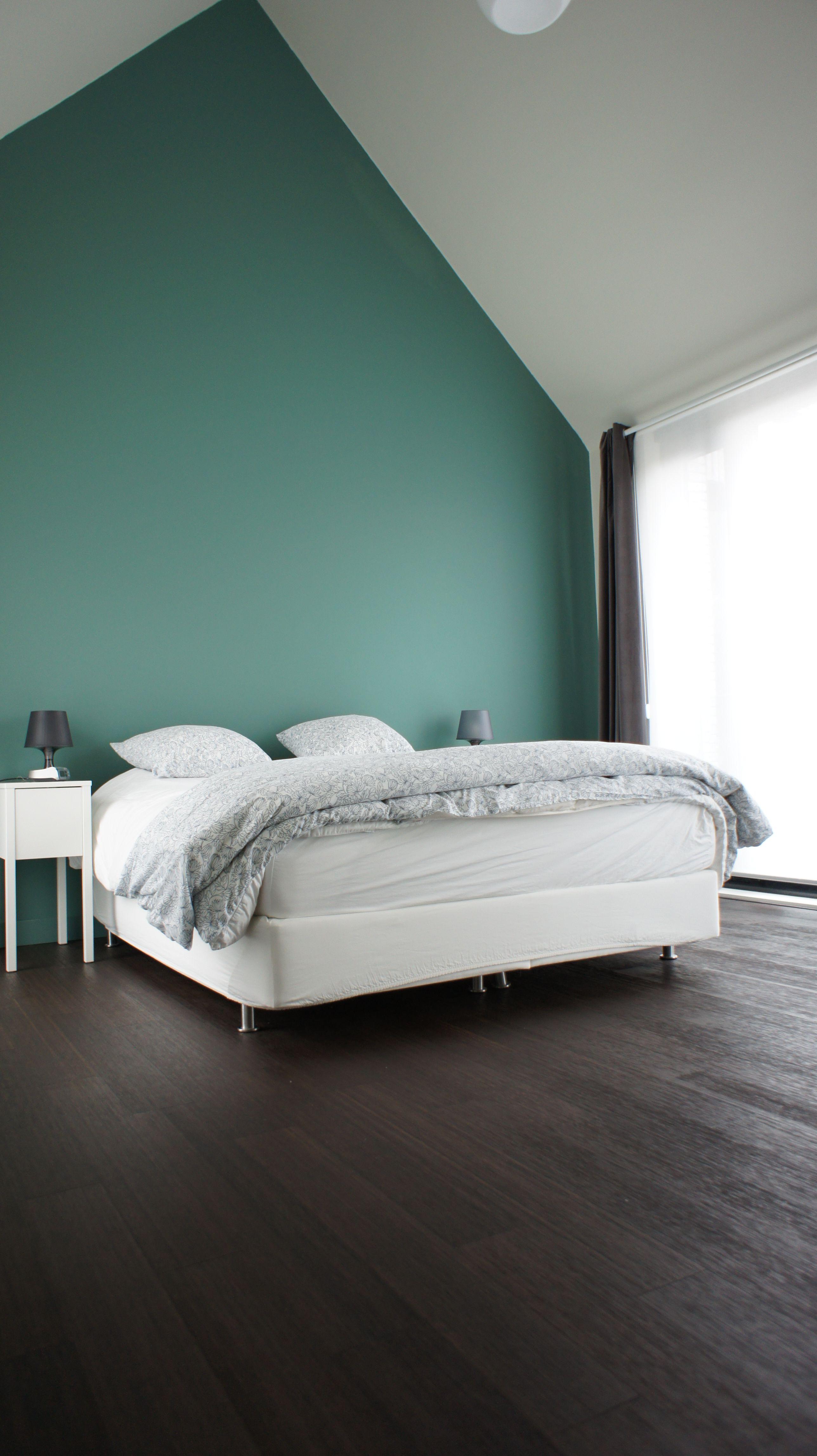 Top Bamboe vloer in slaapkamer Loft woning  Binnenhuis