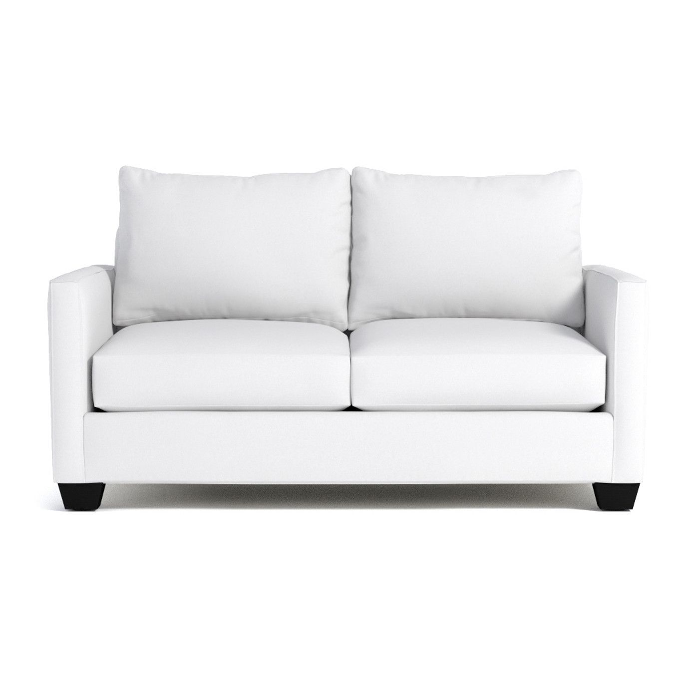 Tuxedo Apartment Size Sleeper Sofa Leg Finish Pecan Sleeper