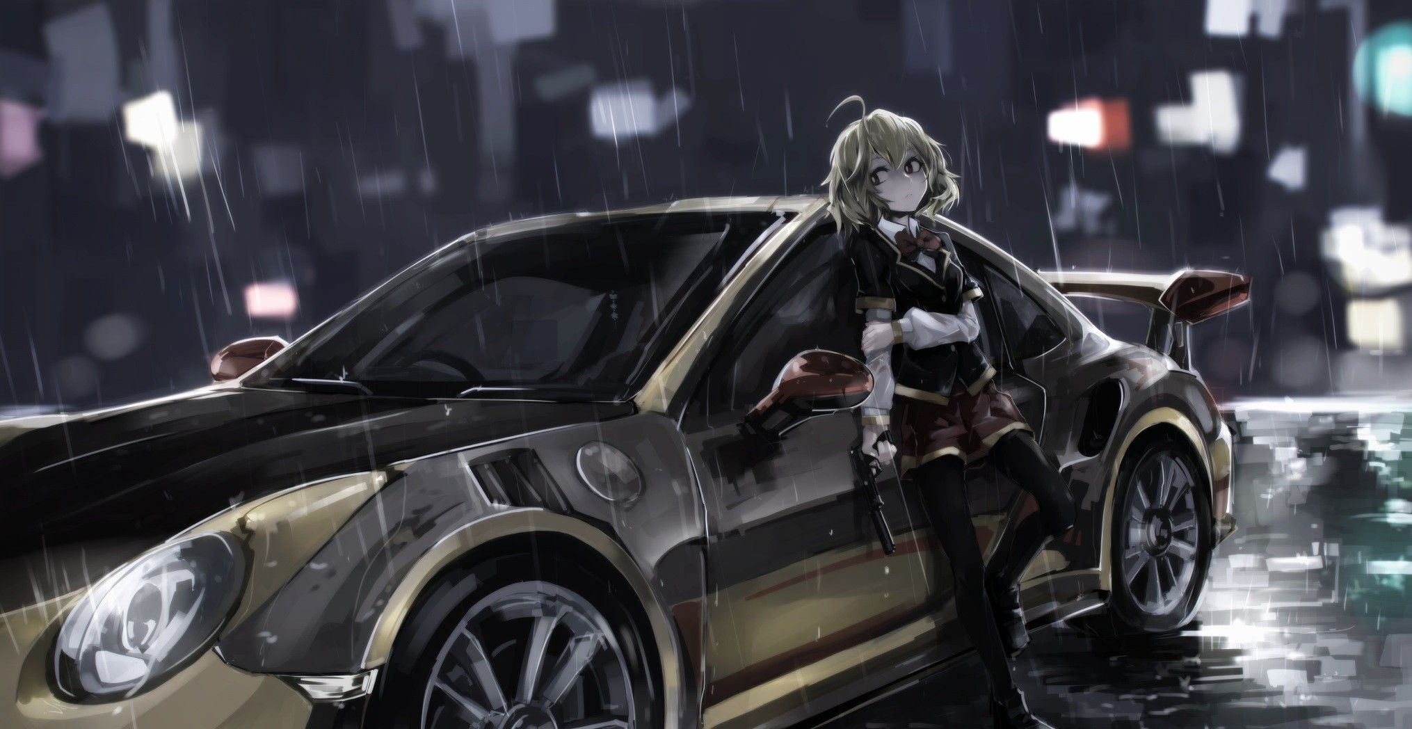 Pin On Illustration Girls Cool cars with girls wallpaper free hd