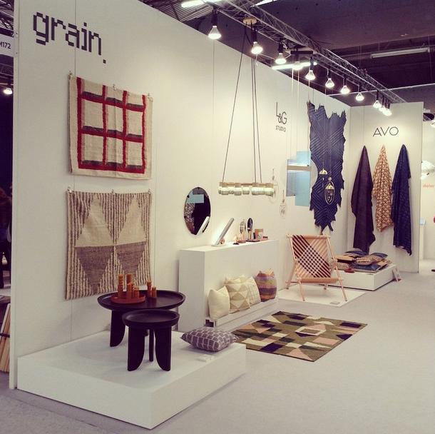 Architectural Digest Home Design Show MADE 2015 Booth M168: Grain, Ladies U0026  Gentlemen Studio