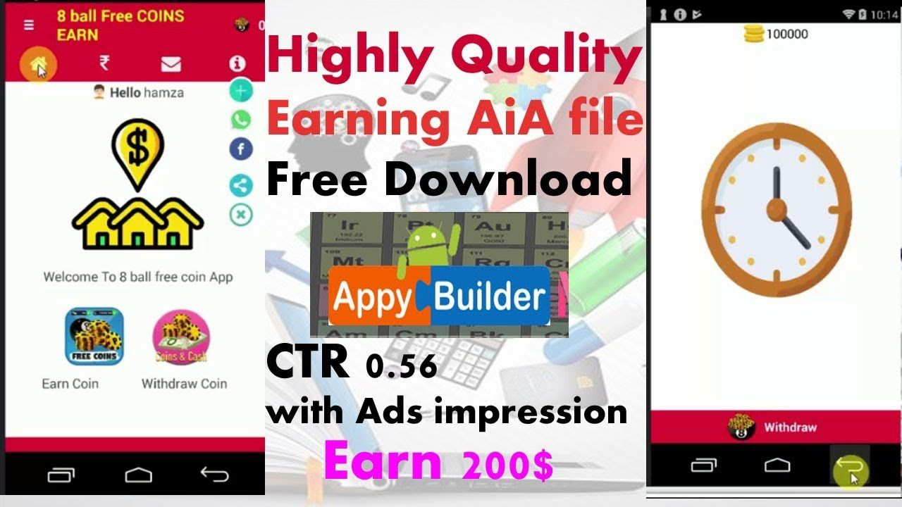 highly quality earning aia file free download appybilder