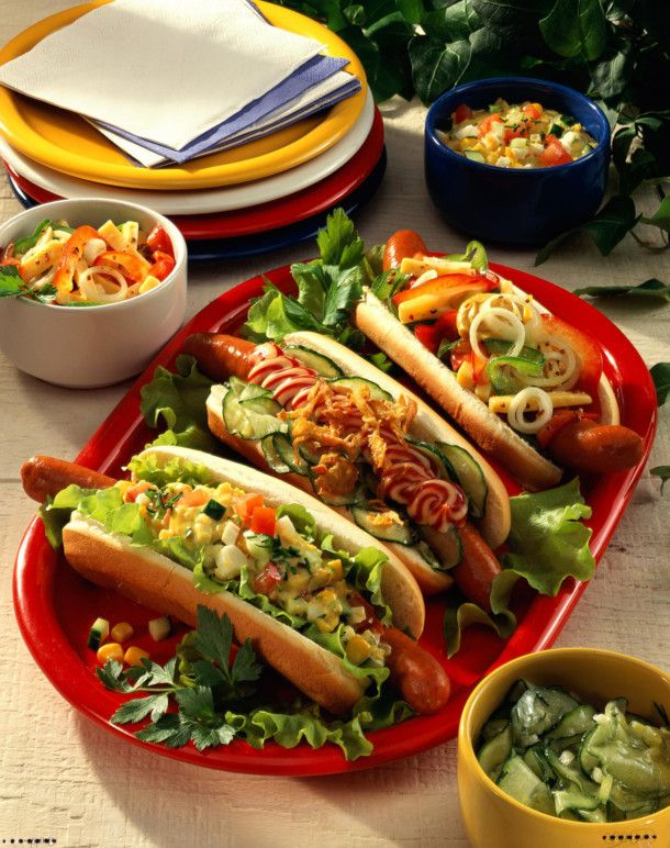 Photo of Three kinds of hot dogs recipe   DELICIOUS
