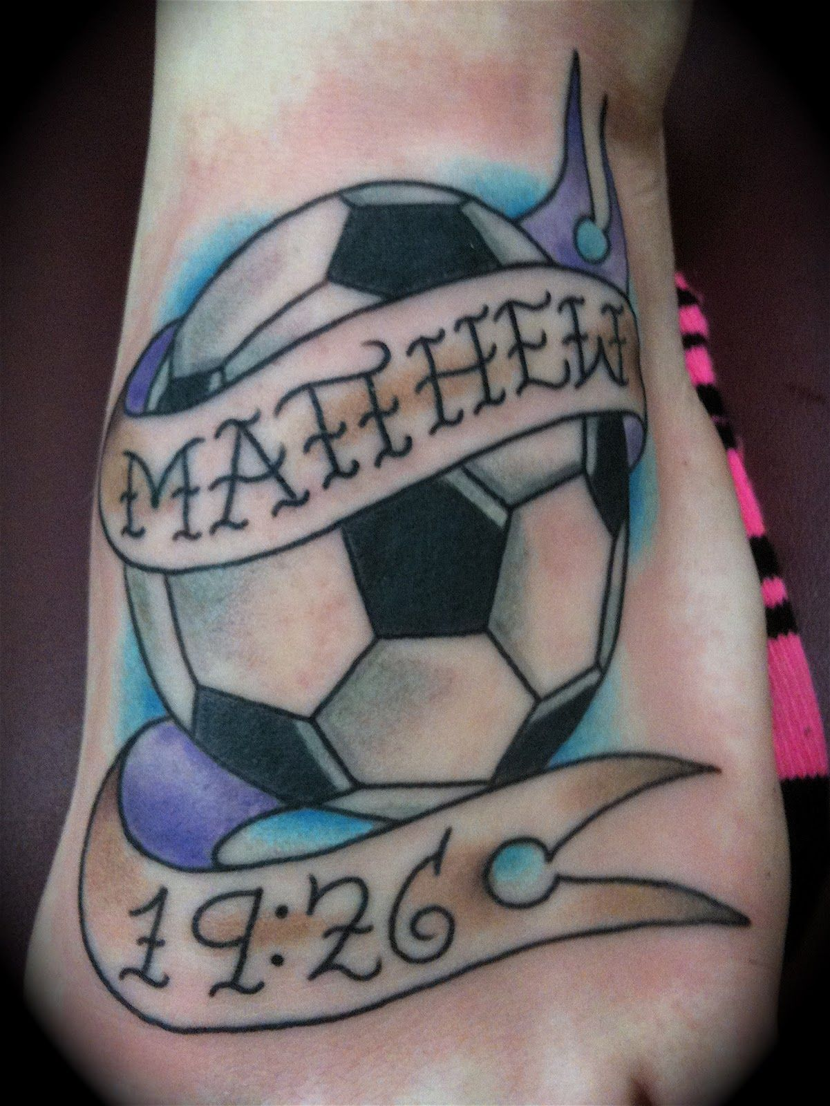 Soccer tattoos designs