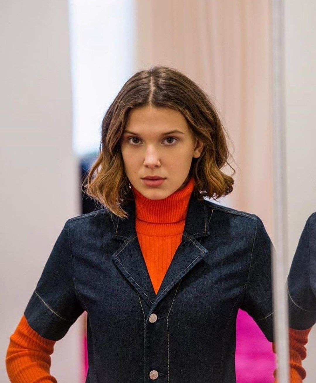 Millie Bobby Brown Calvin Klein 2018