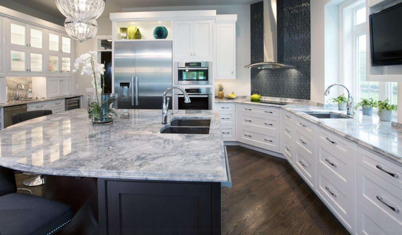 Atemberaubend Küchen Mit Granit Arbeitsplatten Fotos Die