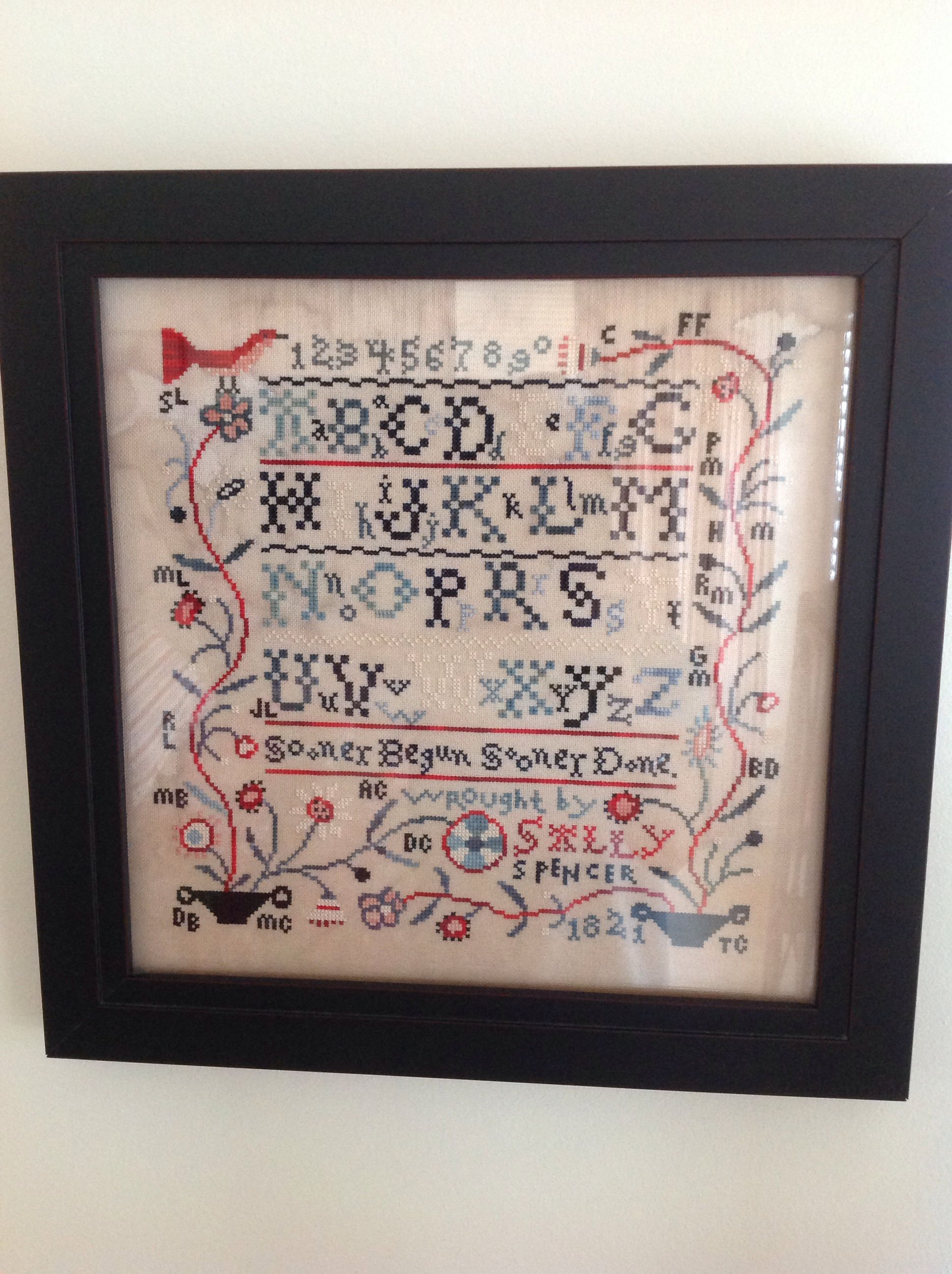 Birds of a Feather Willow Hill Samplings Cross Stitch Pattern