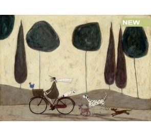 Mounted Print 40 x 40cm the Apple Doesn/'t Fall Far From The Tree Sam Toft