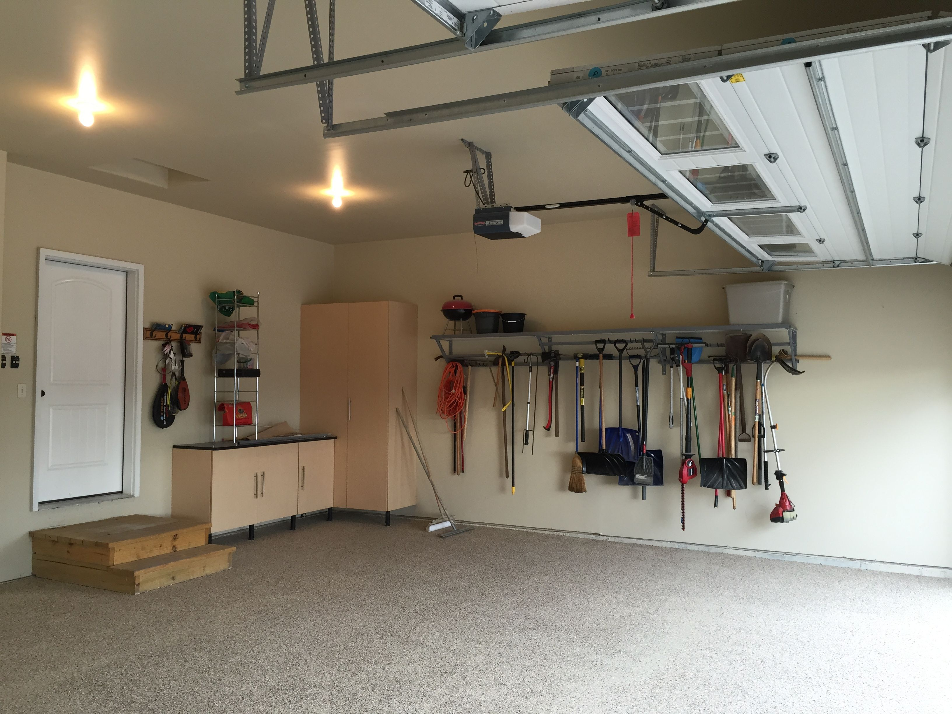 area options bay organization garage systems gilroy flooring storage bars monkey