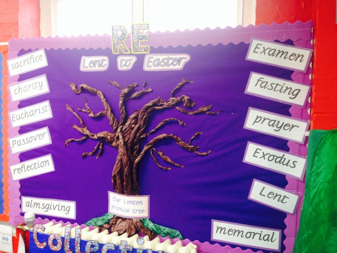 Lenten Promise Tree