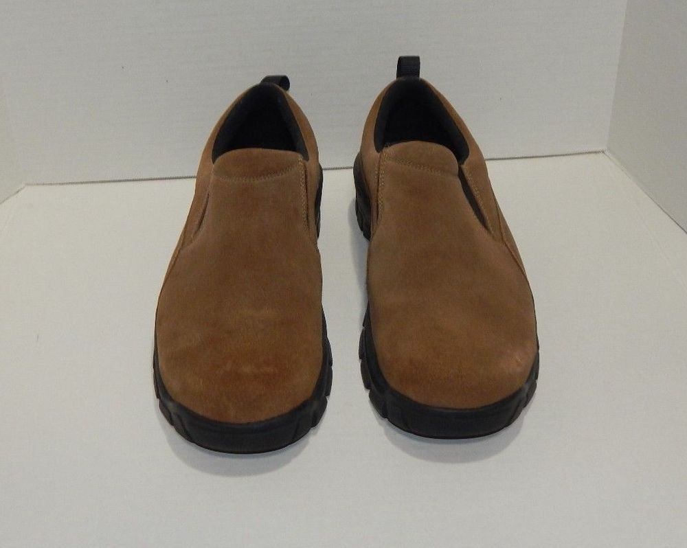 Weather Moc Shoes Suede Slip
