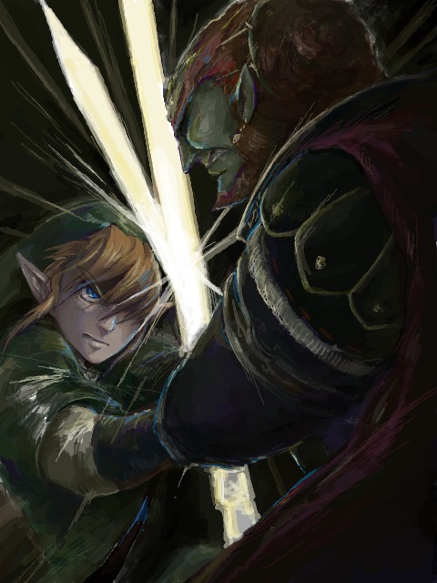 Link Vs Ganon I Think We All Know Who Is Going To Win