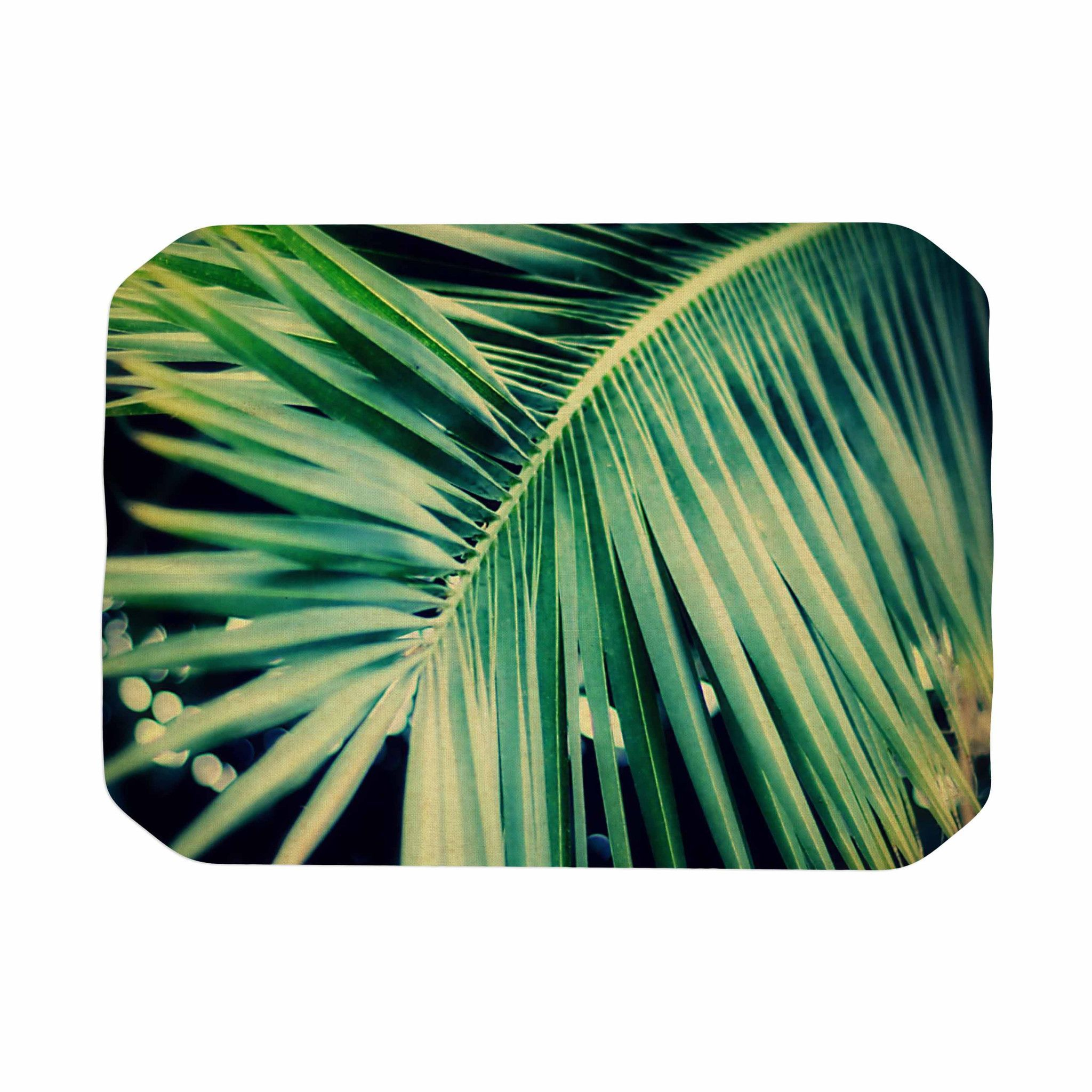 "Angie Turner ""Palm Frond"" Green Nature Place Mat - KESS InHouse"