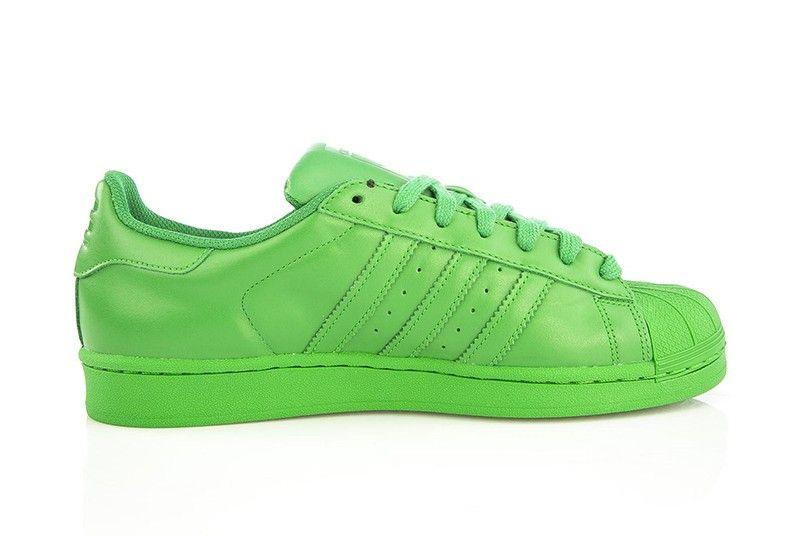 basket adidas superstar supercolor pack vert