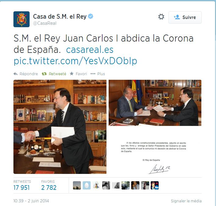 Abdica La Corona De Espaa 1  Spain - You Tube Videos -3509