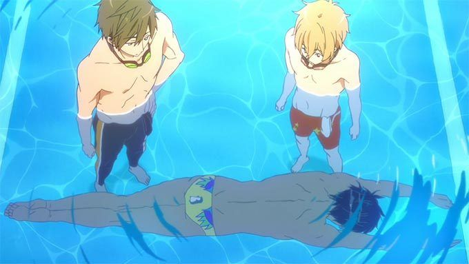 His Failed Attempts At Swimming Had Me On The Floor Laughing Free Iwatobi Swim Club Iwatobi Swim Club Swimming Anime