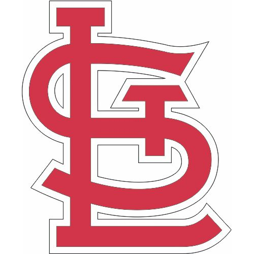 St Louis Cardinals Logo Moving Up To The Silhouette