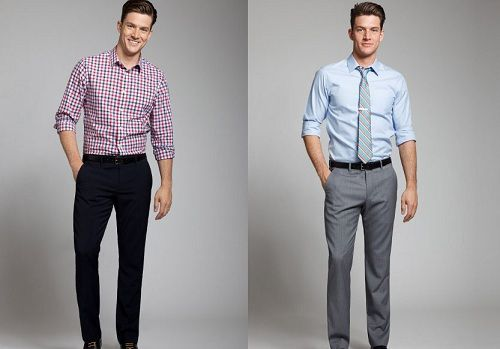 vast selection brand new on feet shots of gray dress pants and white shirt for men | Do you have ...