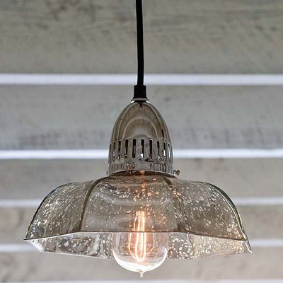 Mercury Glass Pendant Light Fixture Simple Regina Andrew Lighting Antique Mercury Glass Candy Dish Pendant Decorating Design