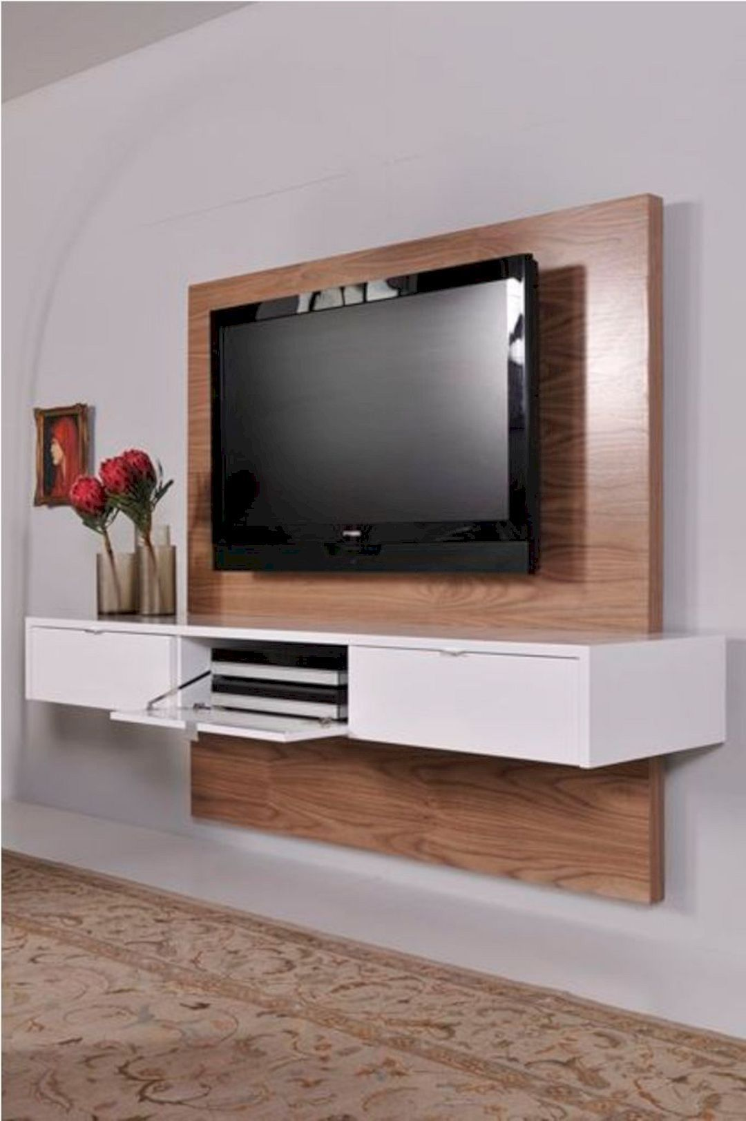 16 Interior Design Ideas For Led Tv Floating Tv Cabinet Floating Tv Unit Tv Wall Unit