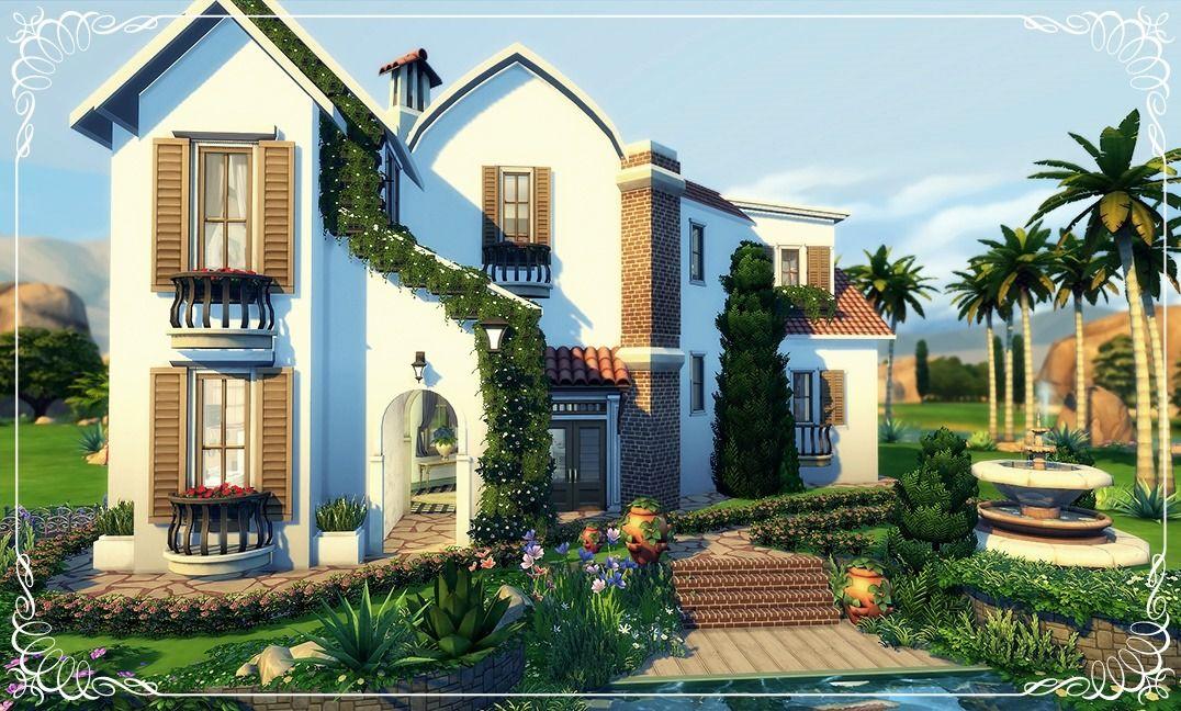 Familia Villano6 Basegame Download My Houses To The Sims4 Sims