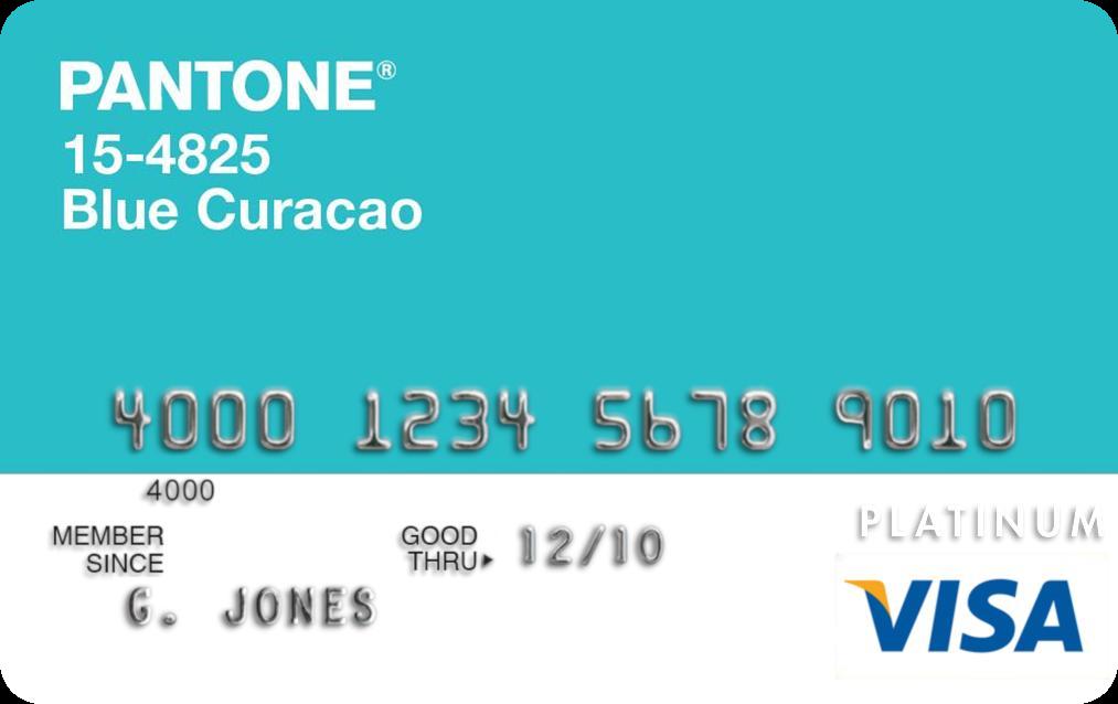 Pantone® Visa Platinum