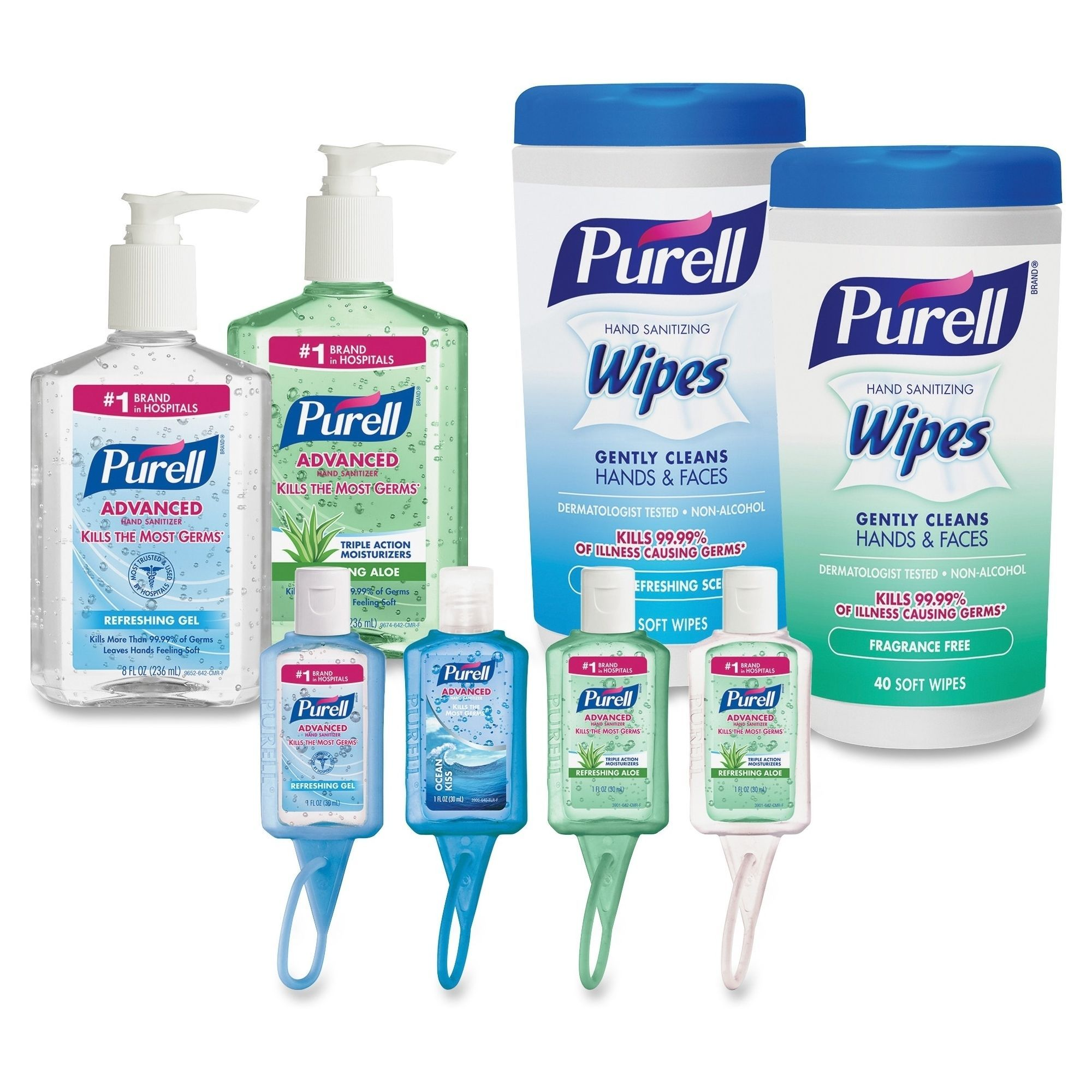 Purell Advanced Hand Sanitizer Office Starter Kit Clear Hand