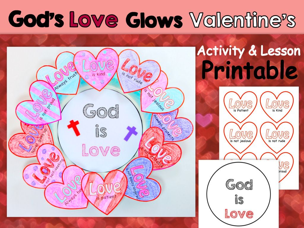 Egglo Printable Valentine\'s Day Craft | Community, Sunday school and ...