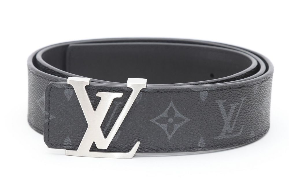 52a04caee551 Louis Vuitton Eclipse LV Initiales 40MM Reversible Belt Size 44 110   fashion  clothing  shoes  accessories  mensaccessories  belts (ebay link)