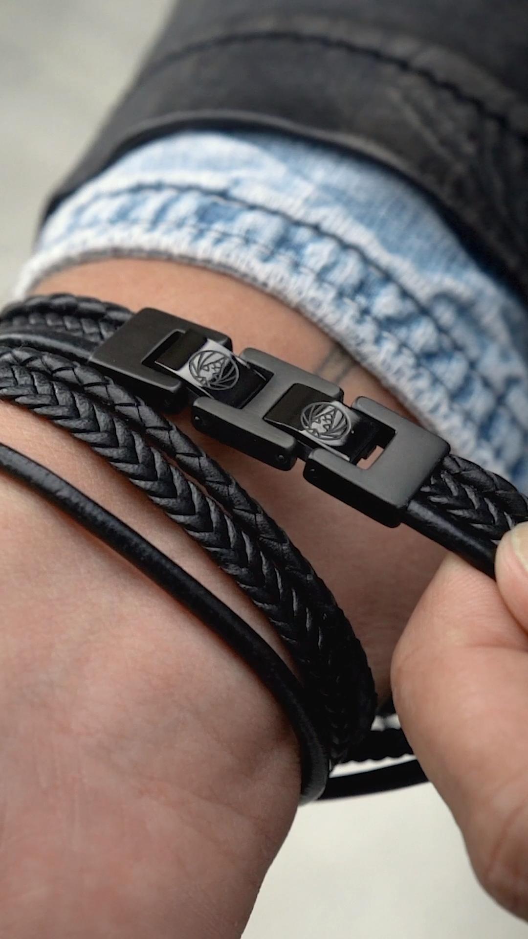 The Black Roy Bracelet #braidsformen