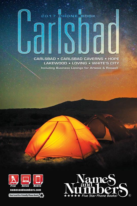 CARLSBAD (New Mexico) 2017 Phone Book Visit carlsbad - business phone book