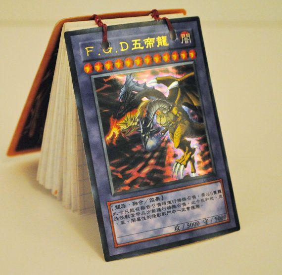 Lucifer Yugioh: Yu Gi Oh Card Notebook: Black Devil Master