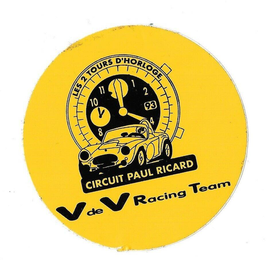 Parche cron/ógrafo de Heuer Motorsport Racing Team