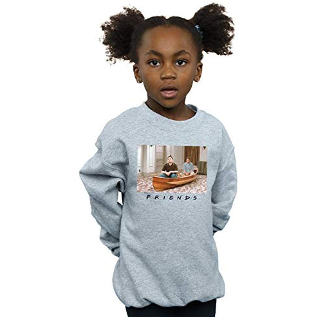 Absolute Cult Friends Girls Boat Photo Sweatshirt